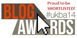 Proud to be shortlisted in the UK Blog Awards - Beauty In Beta